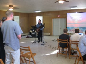 Our first service, May 21, 2006